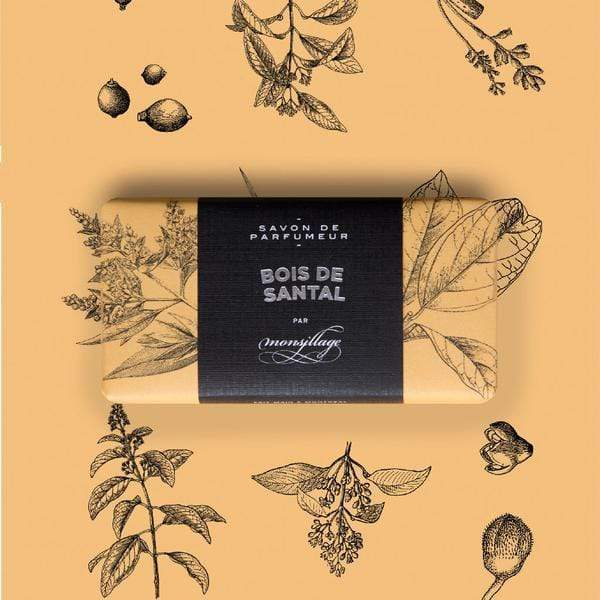 Monsillage Bar Soap Monsillage | SAVON BOIS DE SANTAL