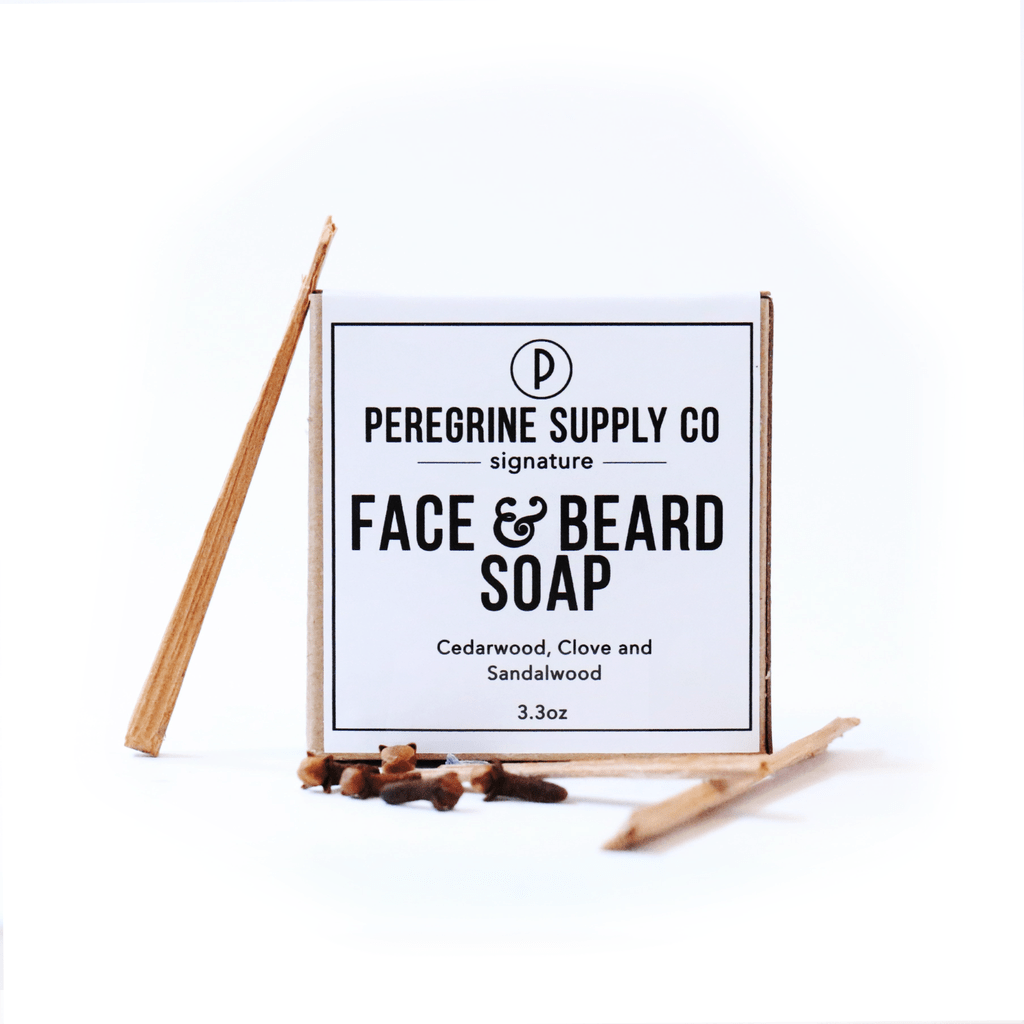 Peregrin Supply Co. | FACE AND BEARD SOAP - Oak + Tonic