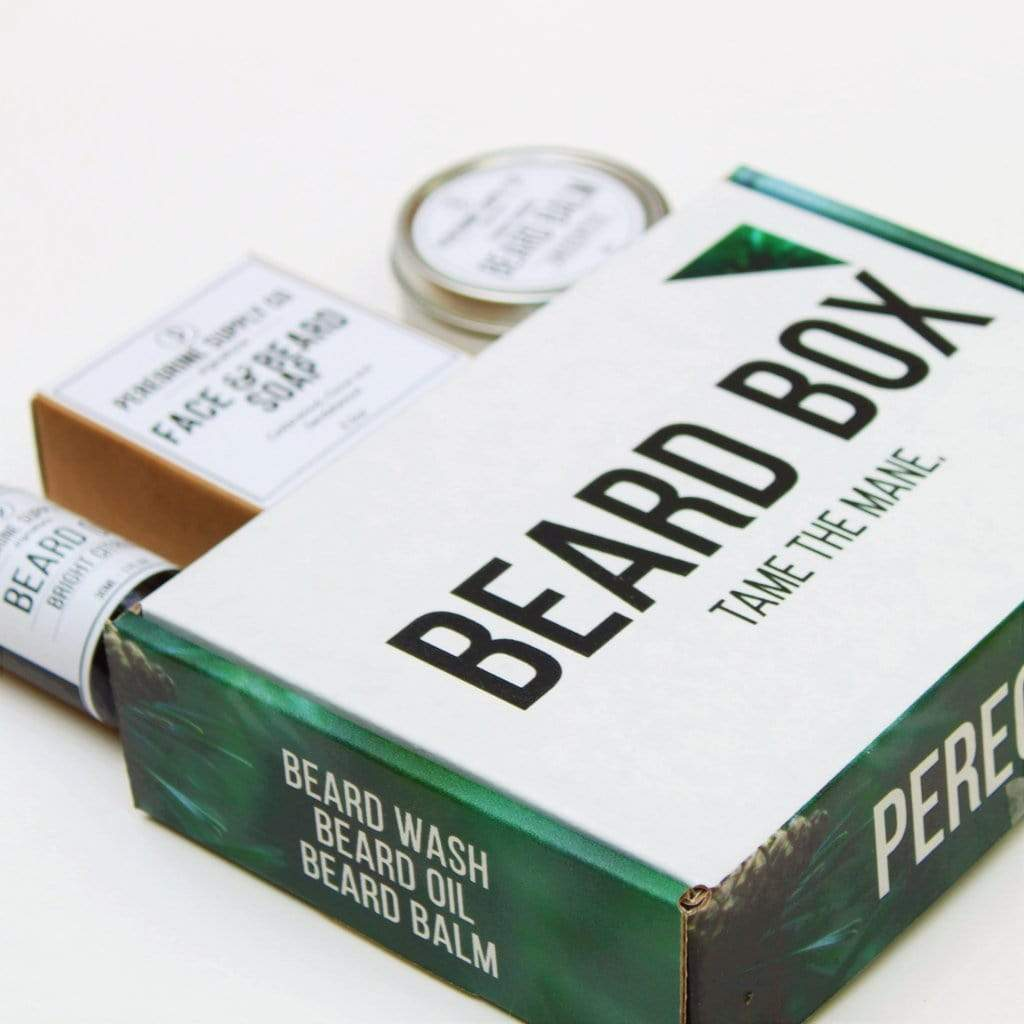 Peregrine Supply Co. | Beard Box Care System - Oak + Tonic