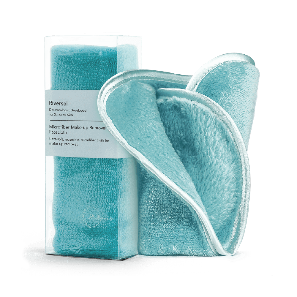 Riversol | Microfibre Make-up Removal Facecloth - Oak + Tonic