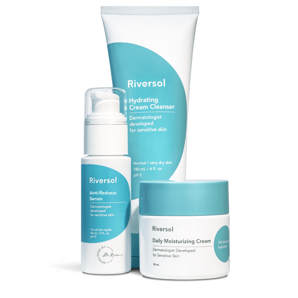 Riversol Skin-Care Kit Riversol | Redness Control Trio [Normal to Dry]