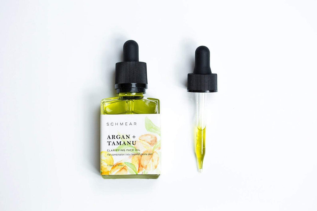 Schmear | Argan + Tamanu Clarifying Face Oil - Oak + Tonic