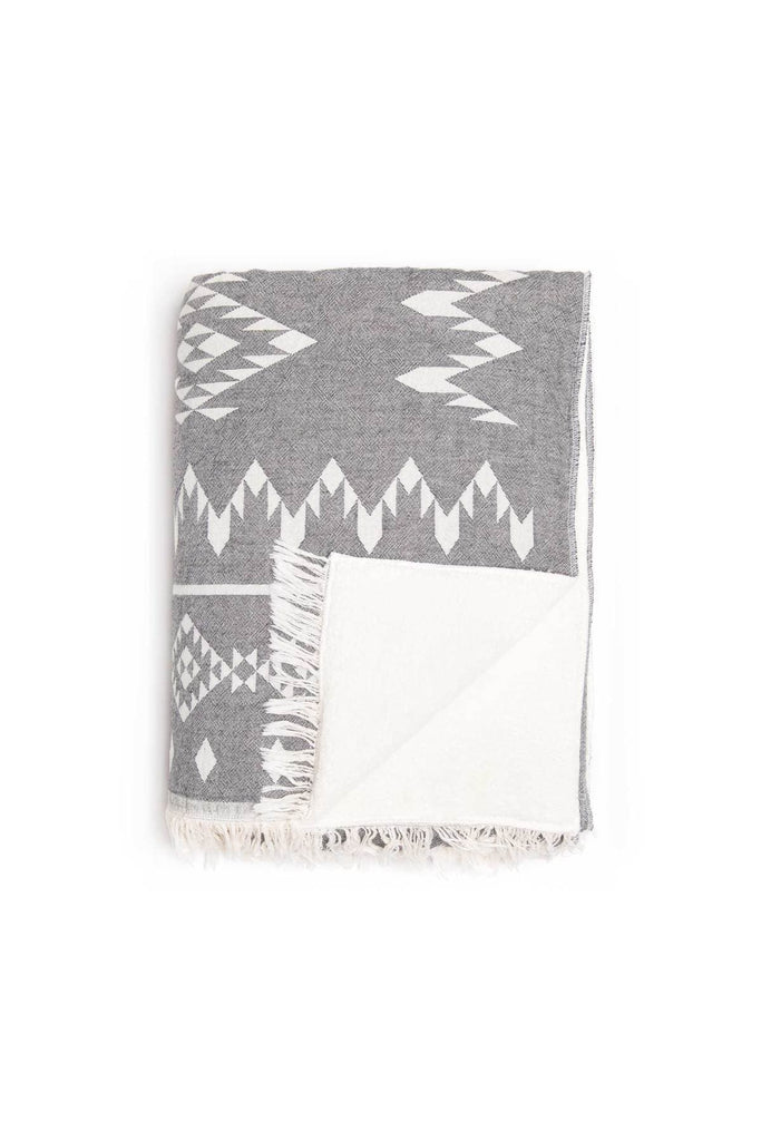 Tofino Towels | THE COASTAL THROW SERIES - Oak + Tonic