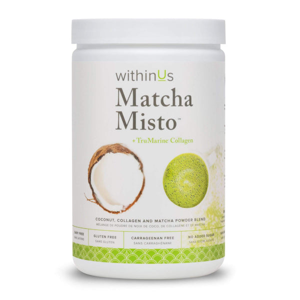 WithinUs Collagen WithinUS | Matcha Misto Jar - 35 servings