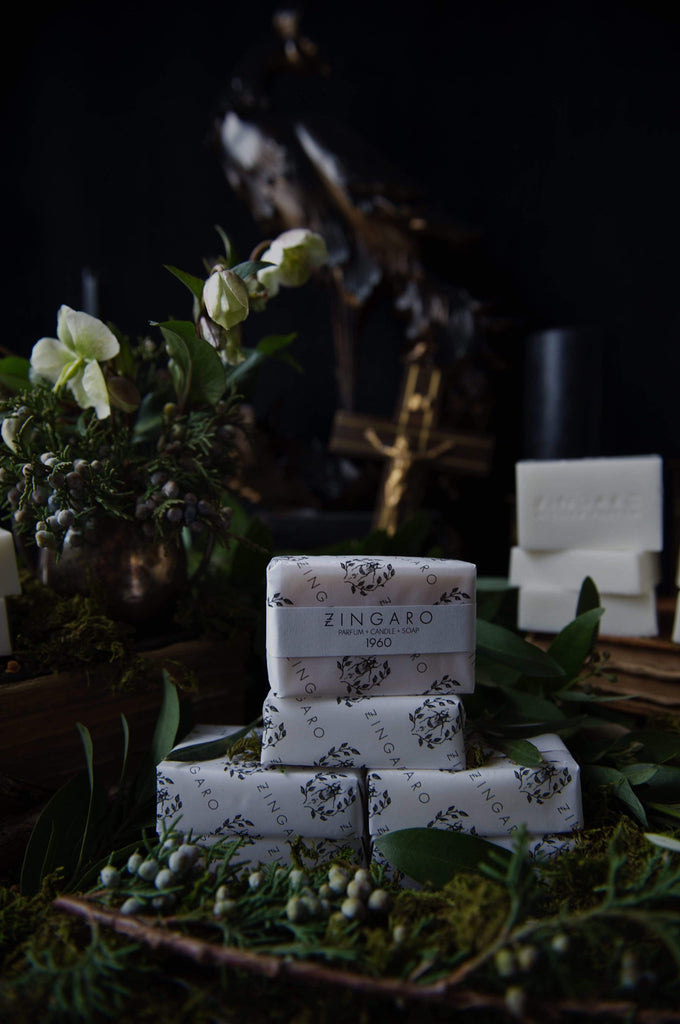 Zingaro | 1960 Goats Milk Soap - Oak + Tonic