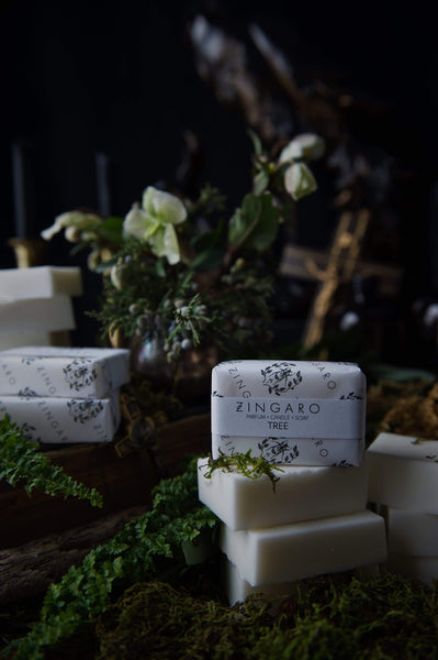 Zingaro | Tree Goats Milk Soap - Oak + Tonic