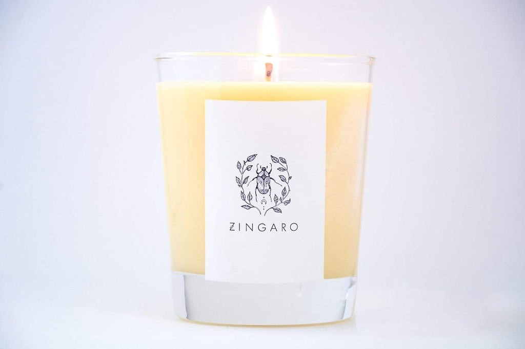 Zingaro | Basilica Candle [Dark Collection] - Oak + Tonic