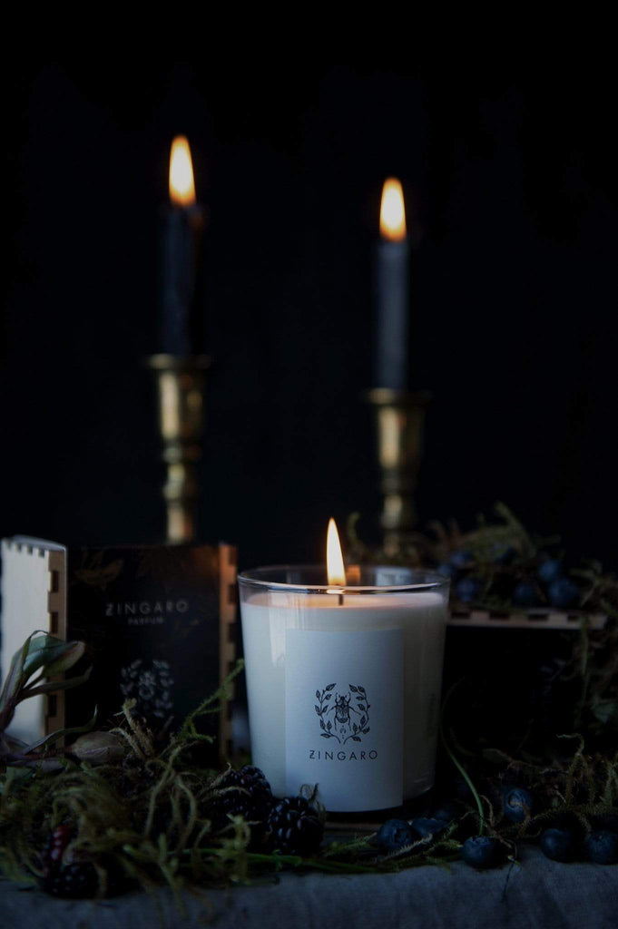 Zingaro | Blackcurrant Vine Candle [Garden Floor Collection] - Oak + Tonic