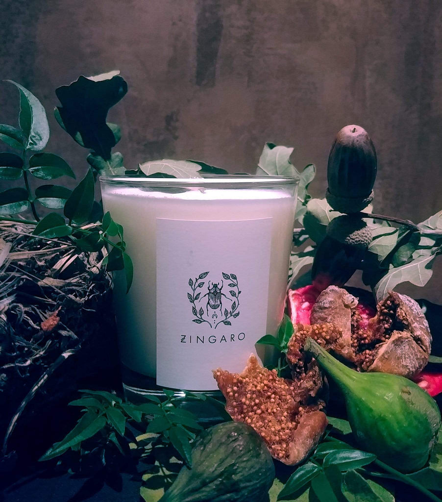 Zingaro | Fig Candle [Italian Collection] - Oak + Tonic