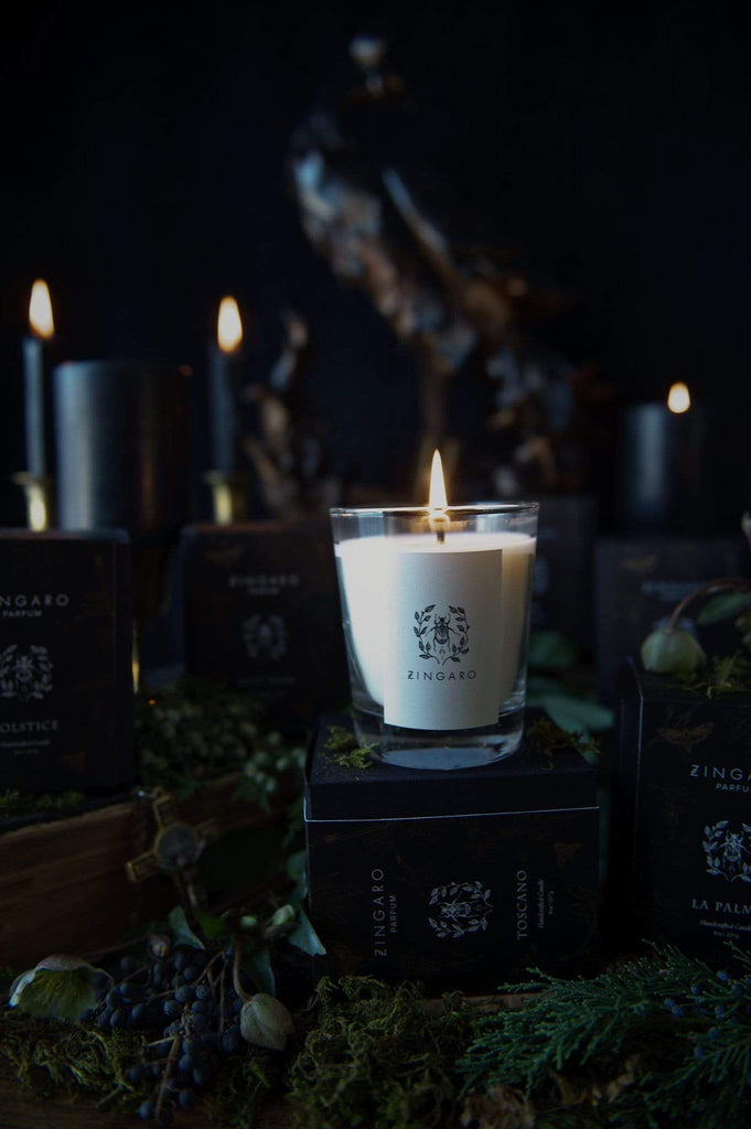 Zingaro | Oud Candle [Dark Collection] - Oak + Tonic