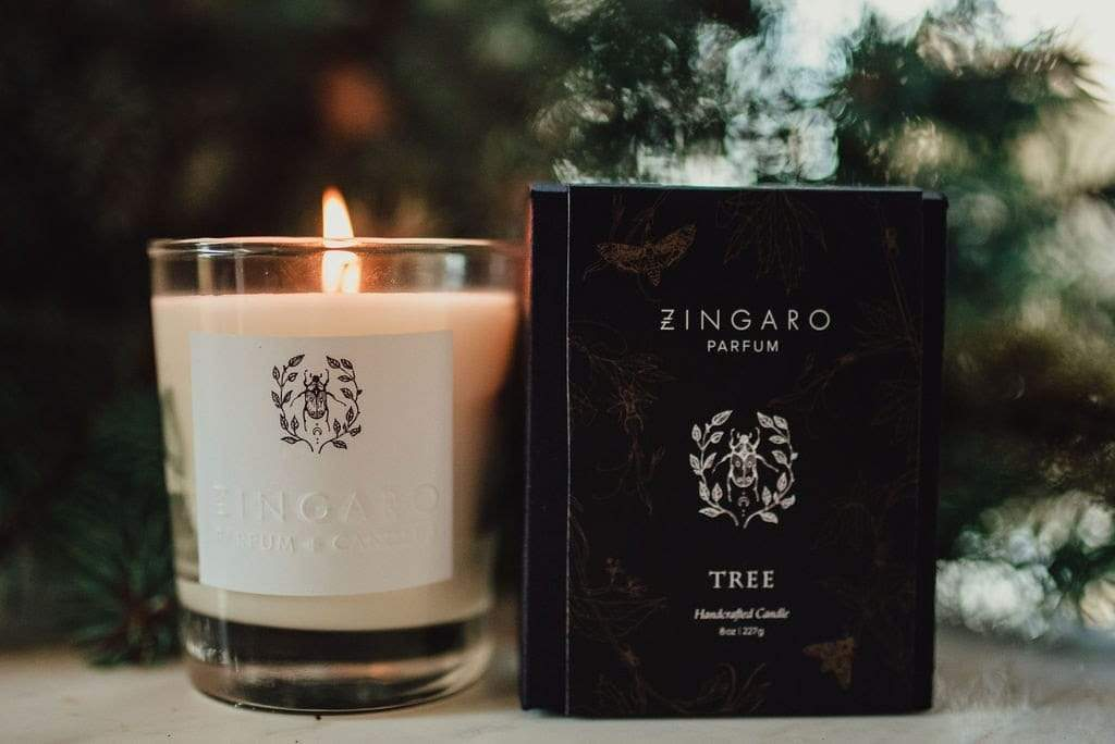 Zingaro Candle Zingaro | Tree Fougere Collection Candle