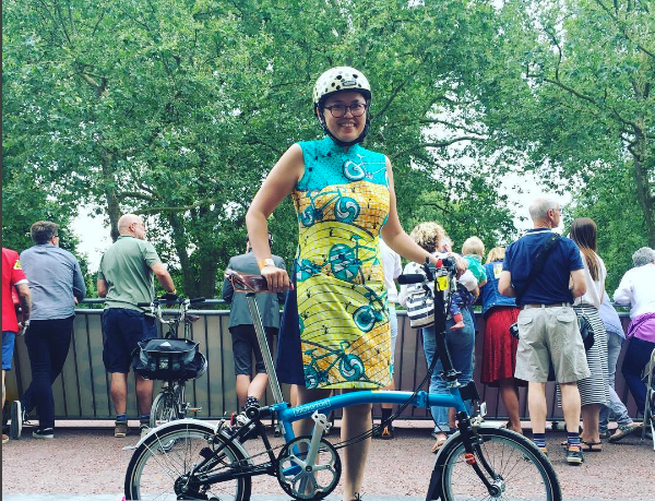 Ms. Lee at the Brompton World Championship