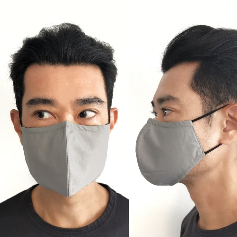 3D contoured mask in size M