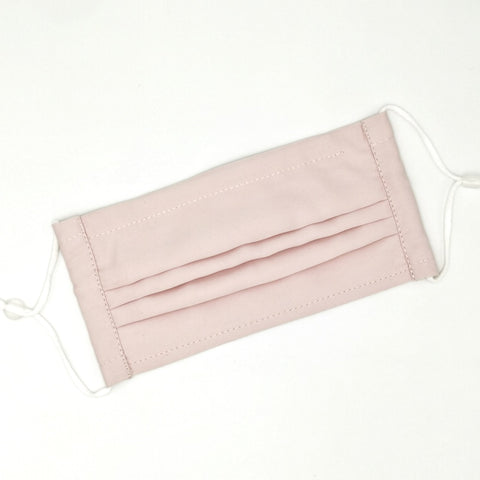 Basic Baby Pink Pleated v2 Mask