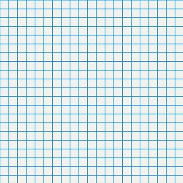 Graph Paper Blue Sampan Mask