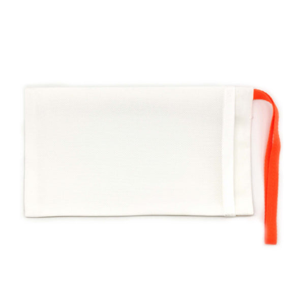 Graph Paper Red Pouch for Masks