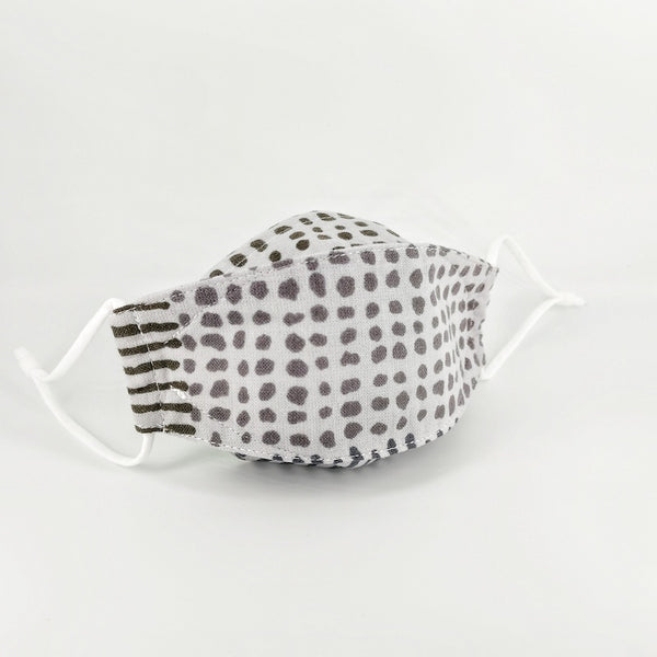 Grey Patchwork Sampan Mask