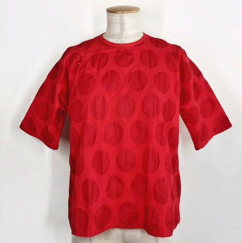 Mod Trad Blouse Salt Shrunk Red
