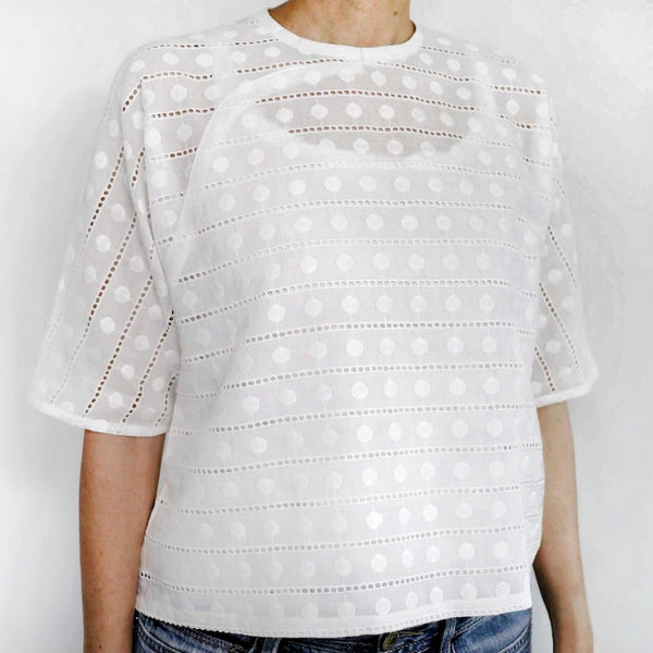 Mod Trad Broderie Anglaise