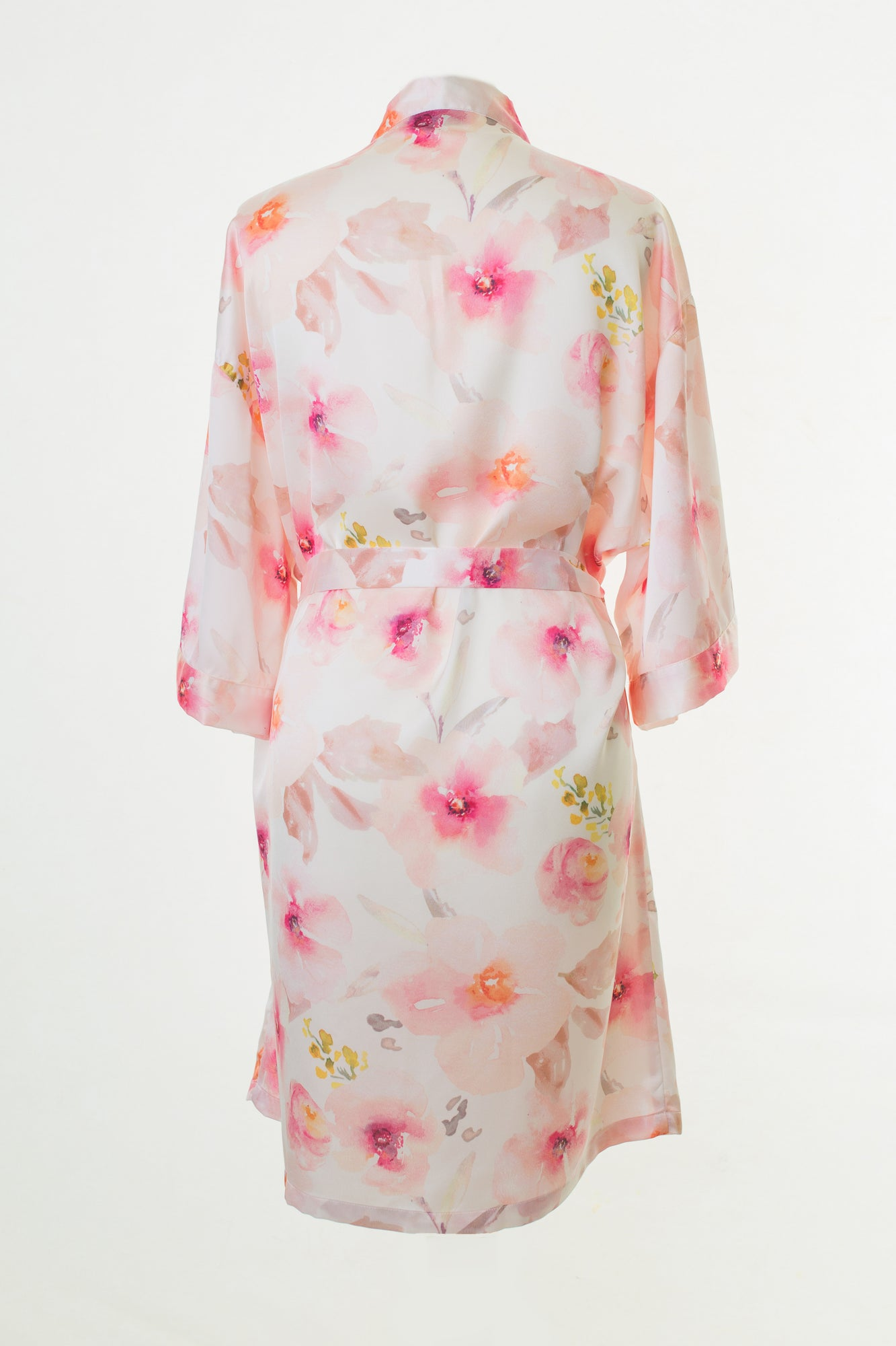 ca0355a09e Pink Floral Dressing Gown Robe – Matchimony
