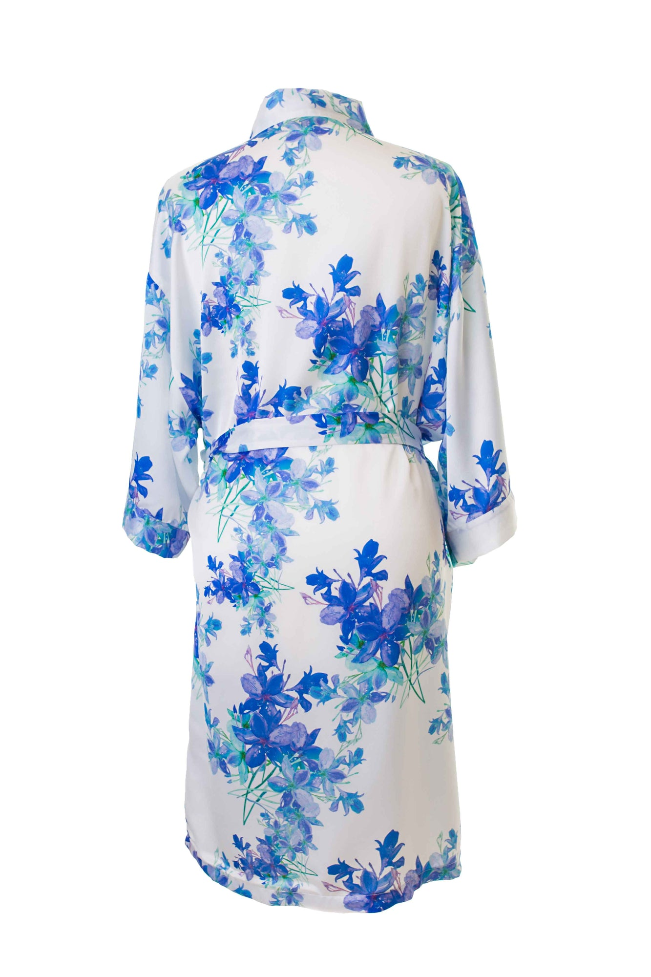 8ba2f304de Blue Floral Dressing Gown Robe – Matchimony