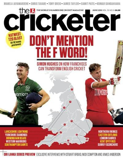 Our piece in The Cricketer Magazine..