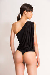 LEE ASYMMETRIC BODYSUIT BEIGE