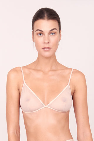 DEMI TRIANGLE BRA NUDE