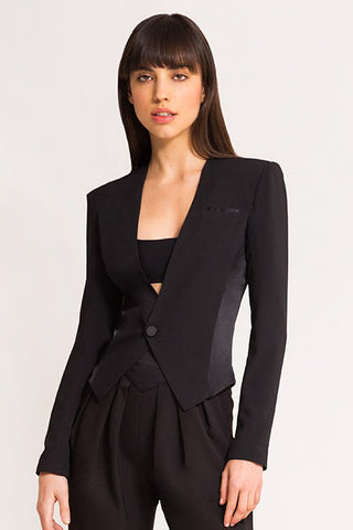 GRACE BLAZER BLACK