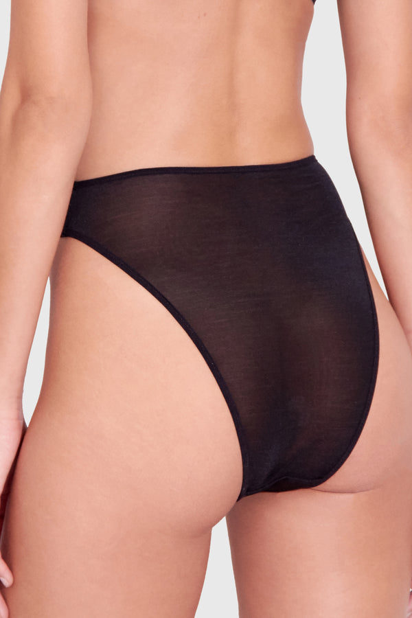 DEMI 80'S KNICKER BLACK
