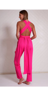 WRAP AROUND JUMPSUIT