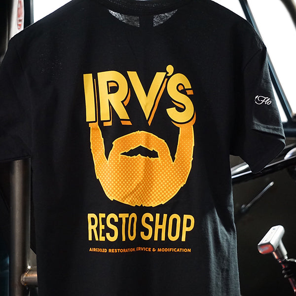 Irv's Restorations tee shirt by Cool Flo