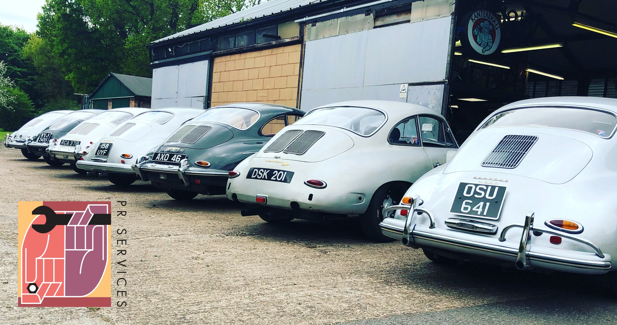 Cool Flo Partner: P R Services - Porsche 356 Specialists