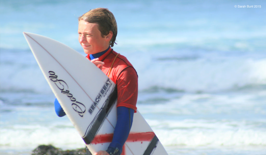 Surfer Sam Russell joins Cool Flo