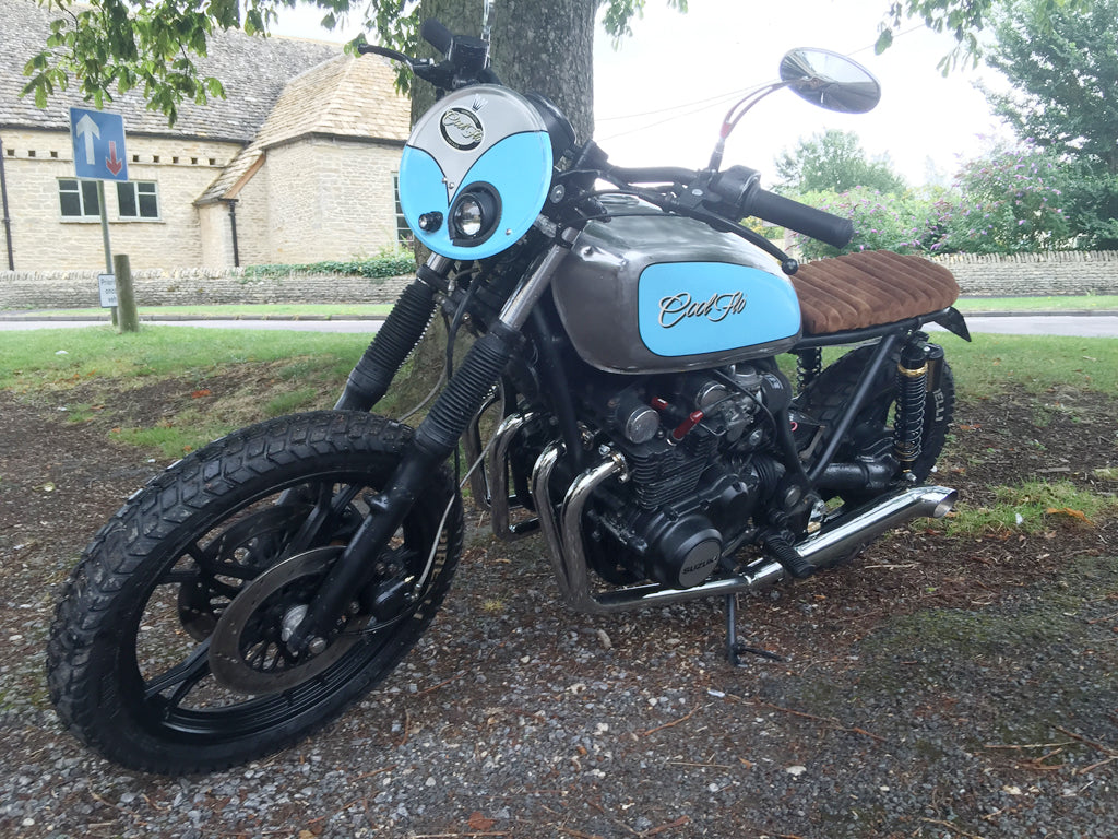 This Custom Suzuki Gs650gt Motorcycle Is One Cool Ride Flo Gs