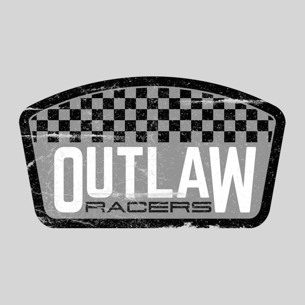 Outlaw Racers Chequered Flag logo