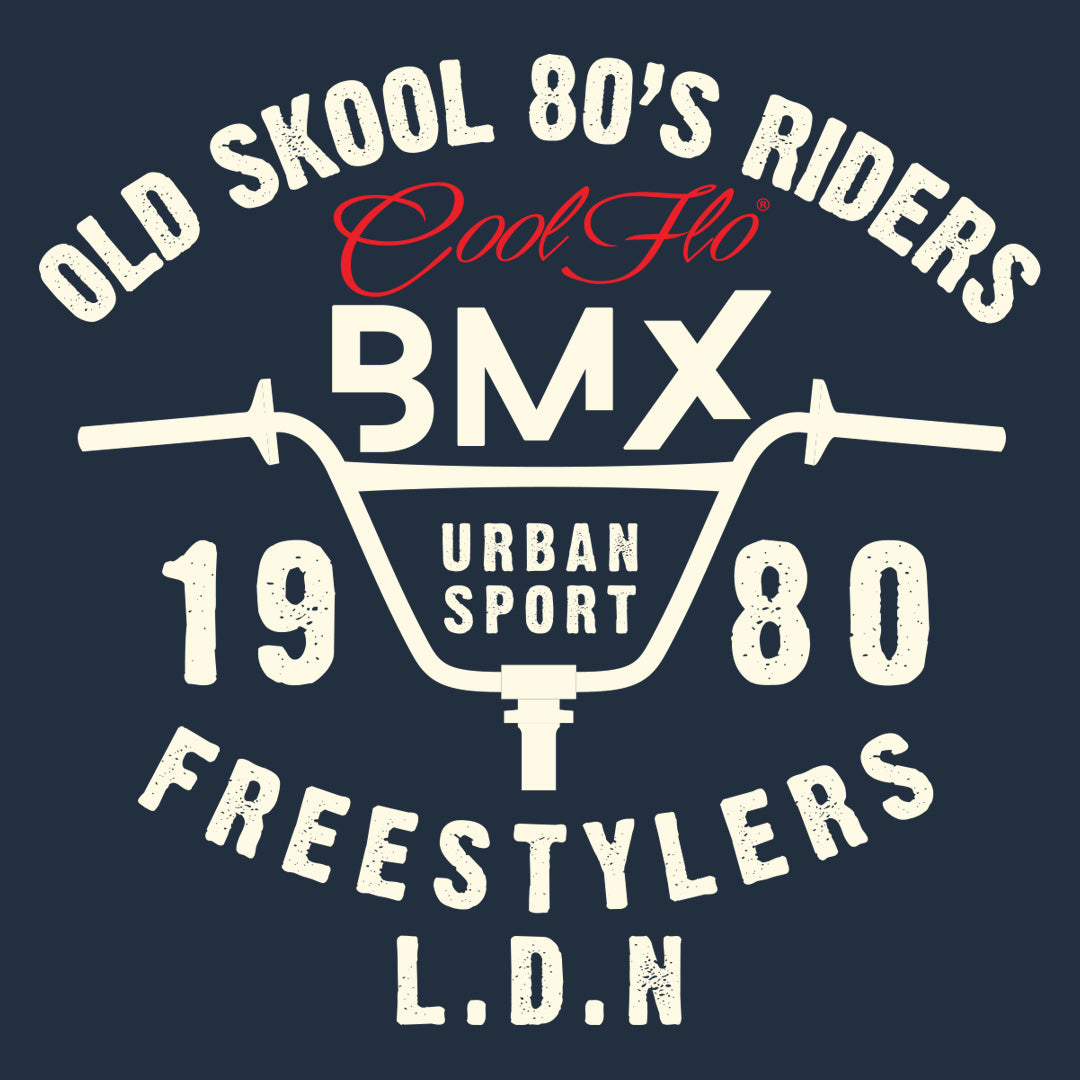 BMX Freestylers Blue T-shirt - Cool Flo