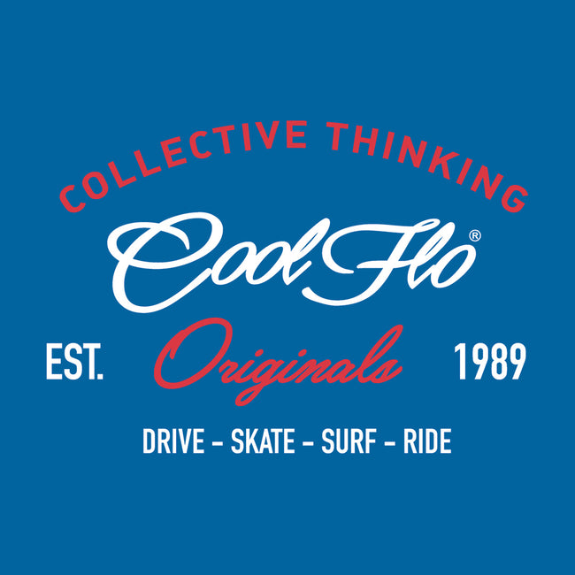 Collective Thinking Blue T-shirt - Cool Flo