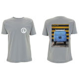 '50 Bus Grey T-shirt - Cool Flo