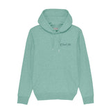Mini Script Green Hoody - Cool Flo