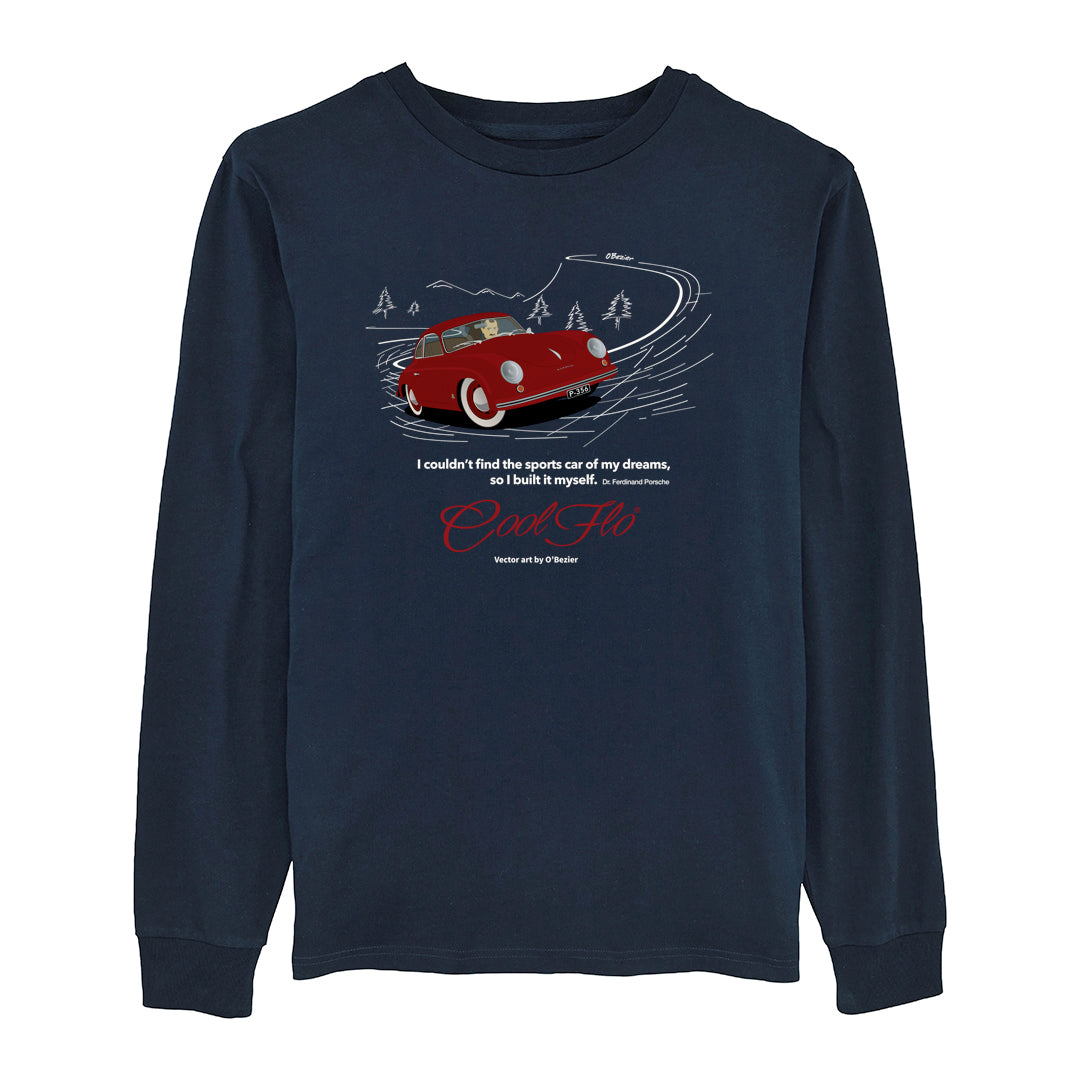 356 Navy Long-Sleeve T-shirt