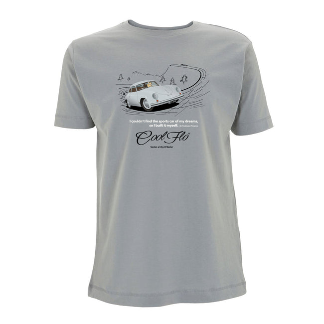 356 Sport Grey t-shirt main pic - Cool Flo
