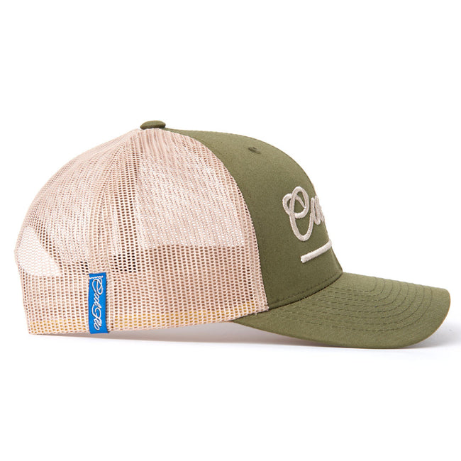 Treading Waves Two-tone Trucker Cap - Cool Flo