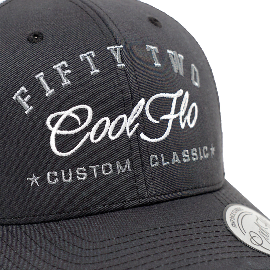 52 Tribute Two-tone Trucker Cap - Cool Flo