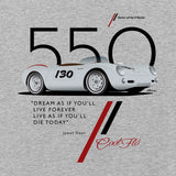 Cool Flo 550 Grey long-sleeve tee - close-up