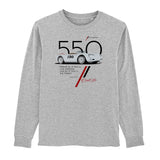 Cool Flo 550 Grey long-sleeve tee - front