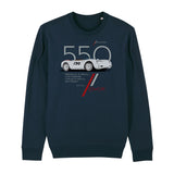 Cool Flo 550 Navy sweatshirt - front