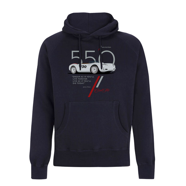 Cool Flo 550 Navy Hoody - front