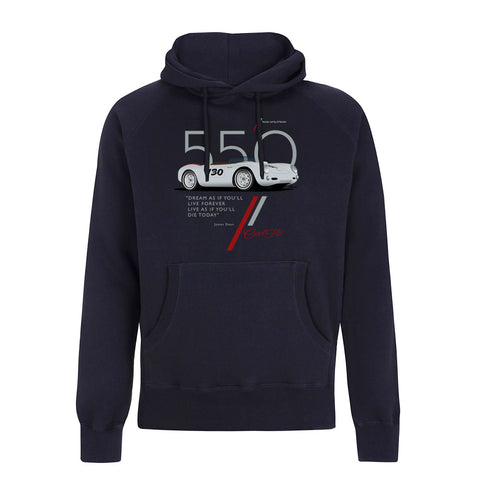 Flo Cat Navy Hoody