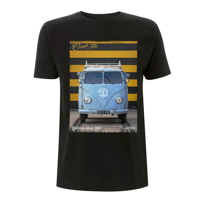 Cool Flo 70th Anniversary T-shirt in black